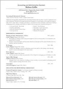 Great Resume Administrative Assistant Great Administrative Assistant Resumes Accounting And Administration Assistant Resume Resume