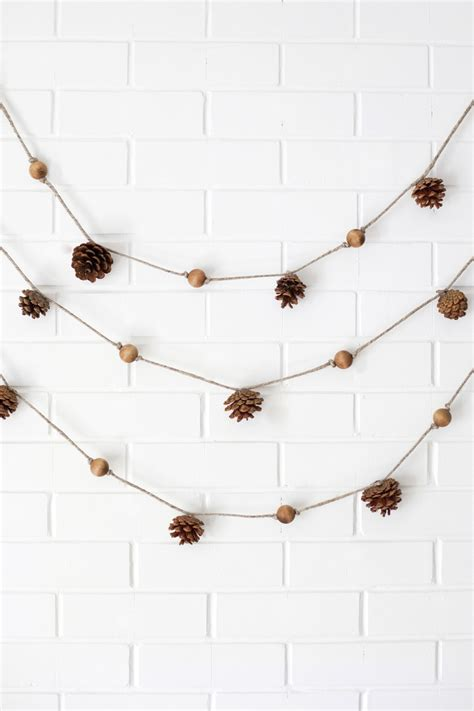 4 Easy Fall Garlands A Beautiful Mess Garland Template