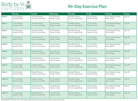 best 25 90 day workout plan ideas on month