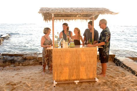 Portable Tiki Hut 0 Portable Tiki Bar New Avidboater