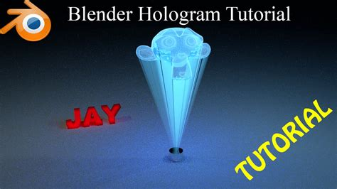 blender 3d hologram tutorial blender hologram tutorial compositing in cycle youtube