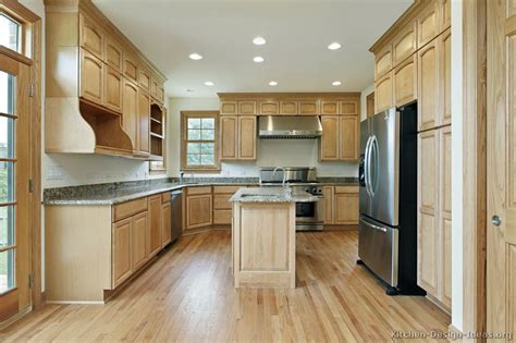 Light Wood Kitchen Cabinets Pictures Of Kitchens Traditional Light Wood Kitchen Cabinets Page 7