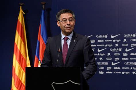 Barcelona President | barcelona president explains how club will spend 163 200m