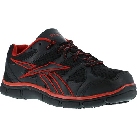 slip resistant athletic shoes s composite toe slip resistant athletic shoe reebok