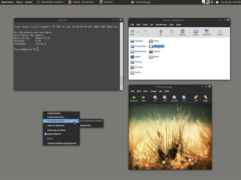 gnome themes more alun dark gnome theme by hcalves on deviantart