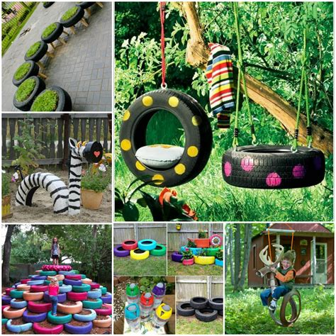 how to diy old tire garden ideas recycled backyard cool 10 diy tire decoration ideas for your garden 1001 gardens