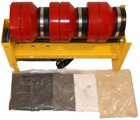 Deluxe Tumbler 2 5lb barrel capacity rock tumbler deluxe with grit kit