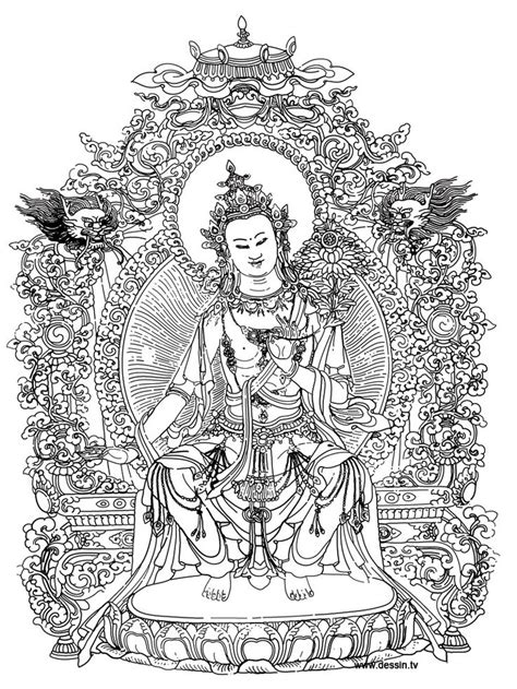 coloring pages for adults buddhist coloring bouddha art th 233 rapie pinterest coloring and