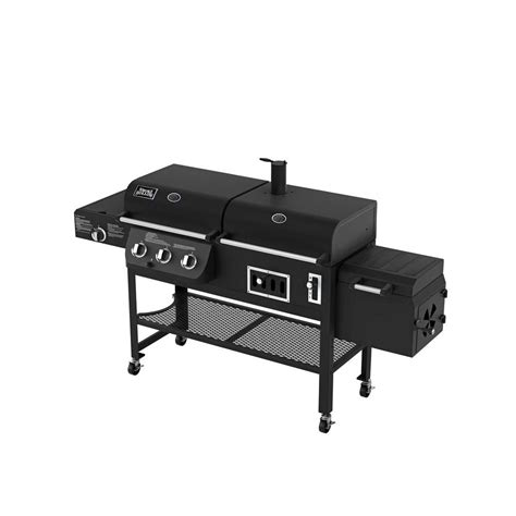 Backyard Grill Dual Gas Charcoal Grill Parts Smoke Hollow Dual Function Propane Gas Charcoal Grill With