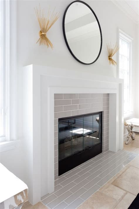 25 best ideas about modern fireplace mantles on