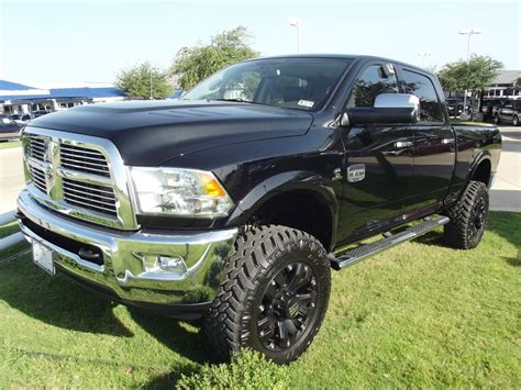 cummins truck lifted 2012 dodge ram longhorn cummins diesel crew has 4 quot lift