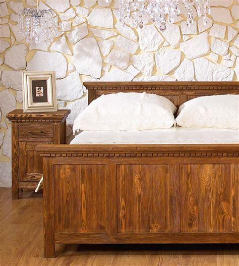 Bett Holz Rustikal by Holzbett Rustikal Hoch Rannpage
