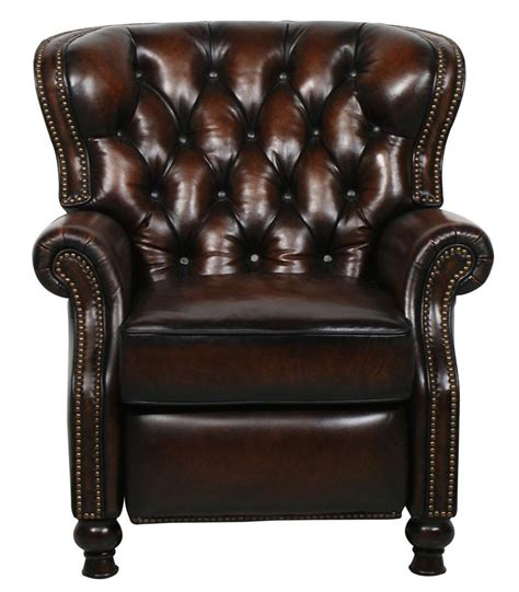barcalounger presidential leather recliner barcalounger presidential ii leather recliner grain