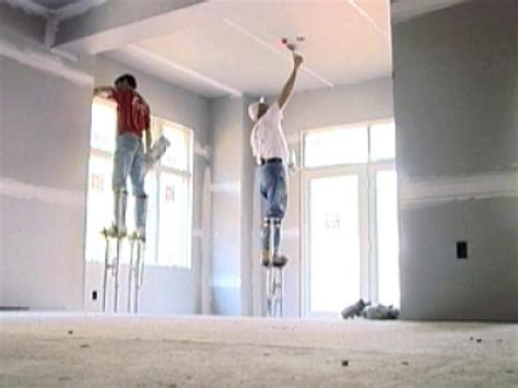 closing up the walls hanging drywall diy