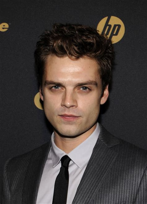 sebastian stan tv sebastian stan in gq gentlemen s ball 2009 zimbio