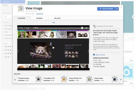 Image Search Engine How To Bring Back The Quot View Image Quot Option In Image