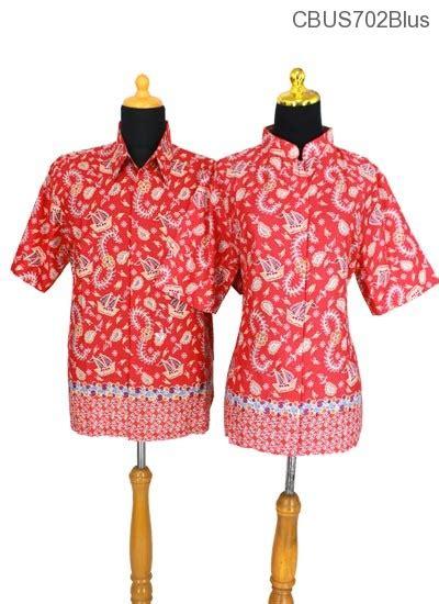 Sarimbit Batik Motif Percak Pd baju batik sarimbit blus motif kapal blus lengan tanggung murah batikunik