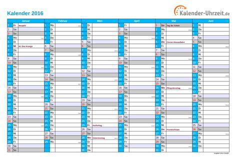 Ausdruck Kalender 2016 Kalender 2016 Zum Ausdrucken