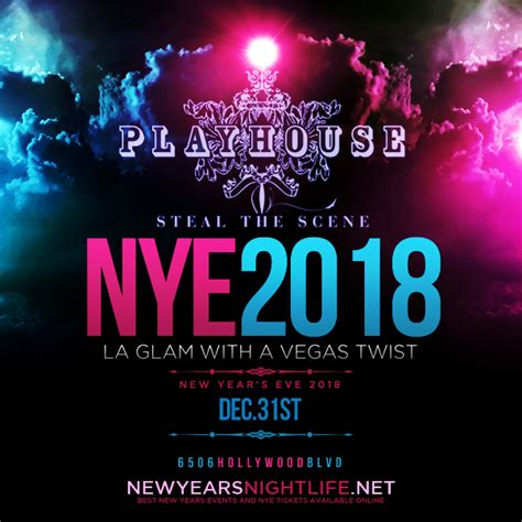 new years house events 2018 playhouse nye new years nye nightlife guide