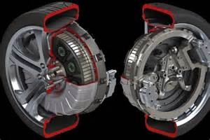 Electric Car Motor In Each Wheel Protean Improves In Wheel Electric Vehicle Motor Evworld