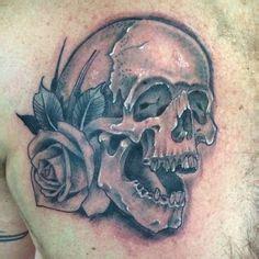 tattoo medford oregon skull by phatt german tattoos cheltenham
