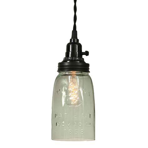 Rustic Mason Jar Pendant Light Jar Pendant Light