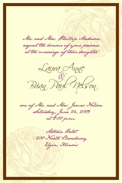 catholic wedding invitation wording theruntime