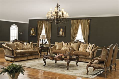 Furniture Living Room by The Versailles Formal Living Room Collection Living Room