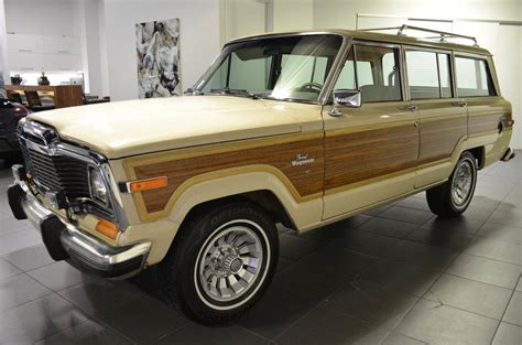 jeep wagoneer for sale 1984 jeep grand wagoneer for sale 2031991 hemmings