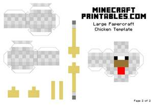 Papercraft Printable Templates by Minecraft Papercraft Template Printables Car Tuning