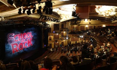 winter garden theater nyc school of rock on broadway a review of school of rock