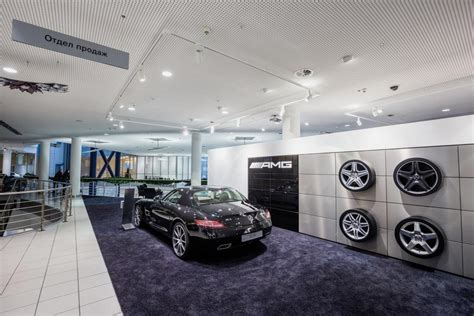 mercedes showroom retail lighting for mercedes benz amg showroom