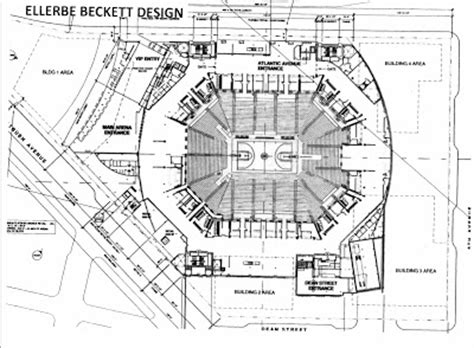 barclay center floor plan from the arena operations presentation views of the haier