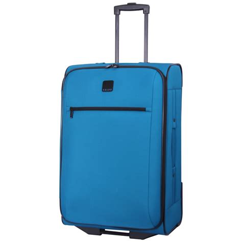 tripp glide lite iii 2 wheel medium suitcase turquoise