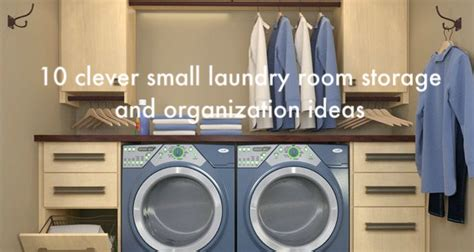Organizing Pantry Shelves 10 clever small laundry room storage and organization