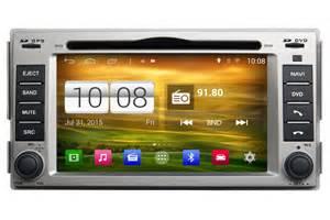 hyundai santa fe android os gps navigation car stereo