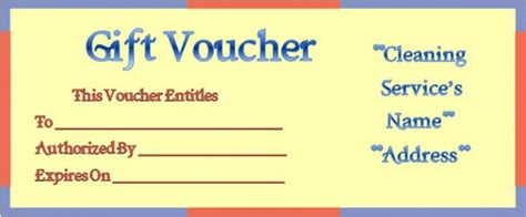 house cleaning gift certificate template house cleaning gift certificate template 10 free