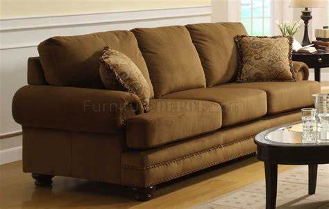 bun feet for sofa lush pecan velvet classic sofa w bun feet optional items