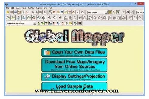 herunterladen global mapper 16.2 serial