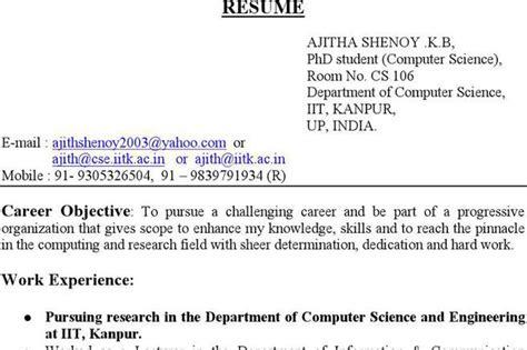 bsc computer science resume sle pdf computer science resume templates free premium templates forms sles for jpeg