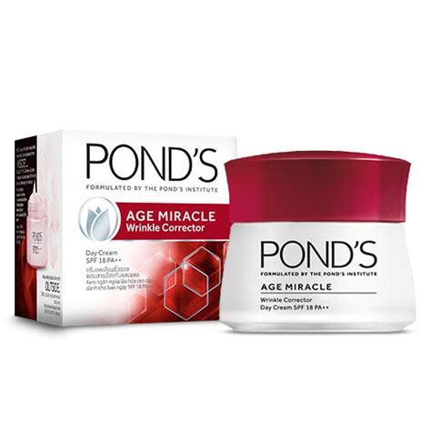 pond s age miracle wrinkle corrector day