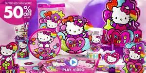 hello kitty party supplies hello kitty birthday ideas