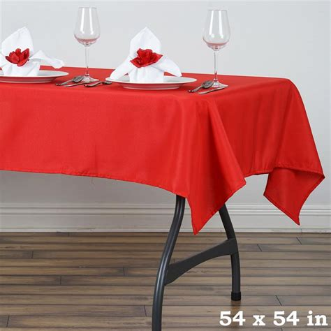 54 x 54 table 54 x 54 quot square polyester tablecloth wedding table linens