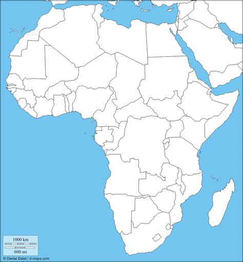 blank africa map andrewsgeography blank maps assignments
