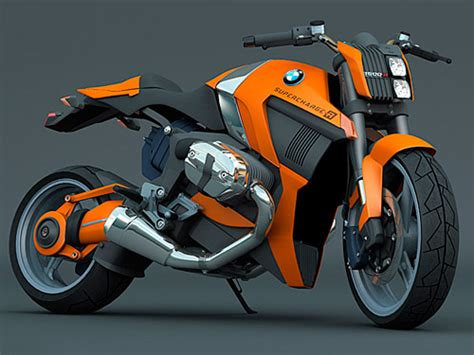 future bmw motorcycles supercharger concept bike