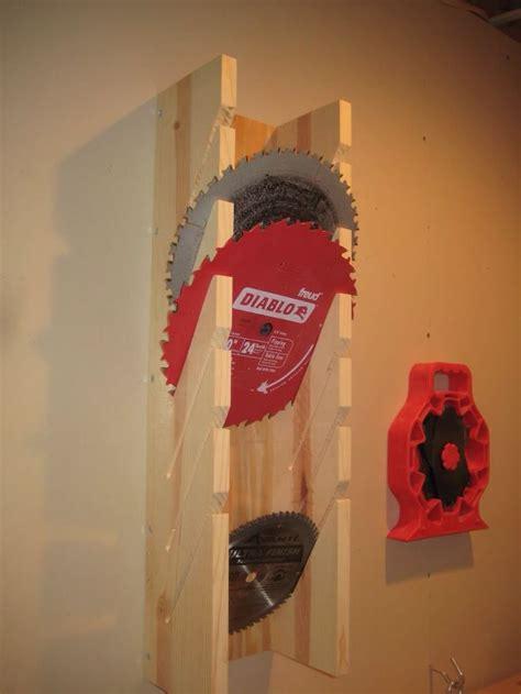 great diy storage for circular saw blades   Woodworking