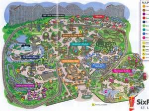 theme park brochures six flags st louis theme park