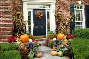 fall seasonal decorating ideas for front porch