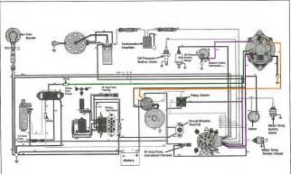alternator wiring diagram omc cobra wiring diagram pdf free