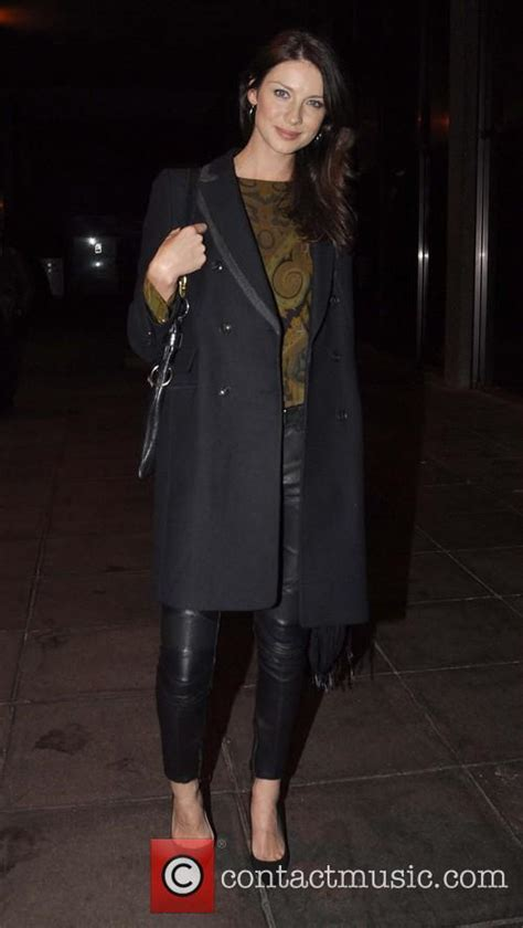 caitriona balfe   celebrities outside the rte studios for the saturday night show 5 pictures